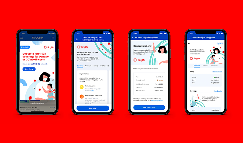 GCash partners with Singlife Philippines for affordable digital insurance products